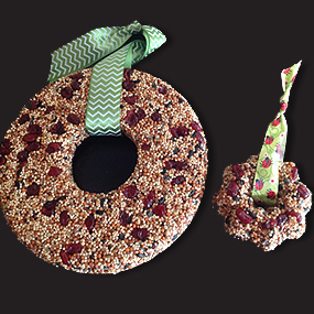 Fieldcrest Farm Bird Seed Wreath