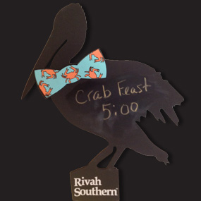 Rivah Southern Pelican Chalk Board