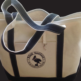 Rivah Southern Canvas Boat Tote